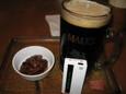 黒生ビール(700円)
