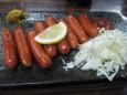 ウインナー炒め(350円)