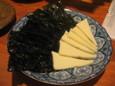 ペッパーのり&チーズ(300円)