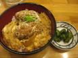 ミニカキフライ丼(420円)