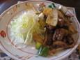 ホルモン炒め(450円)