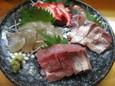 活魚4点盛(800円)