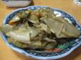 ザーサイ油炒め(250円)