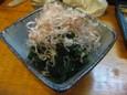 法蓮草からし醤油(300円?)