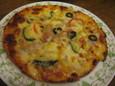 野菜のミックスピザ(780円)