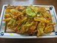 肉とキャベツの辛みそ炒め(250円)