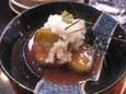 揚げ茄子シャリ芋(210円)
