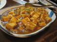 カレー豆腐(380円)