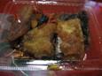 カレイの甘辛煮(105円)