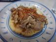 豚焼ポテト(450円)