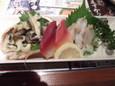 貝刺し盛合せ(390円)