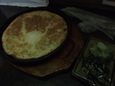 大和芋のネギ焼(360円)