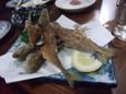 魚の骨煎餅