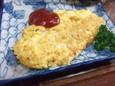 チーズオムレツ(450円)