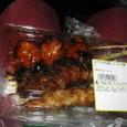 焼き鳥4本パック(314円)