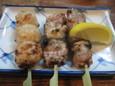 焼鳥、つくね(350円)