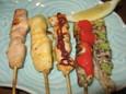 ササミの五味焼き(690円)
