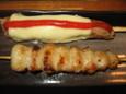 チーズつくね、ぼんじり(150円)