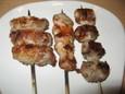 串焼き3種